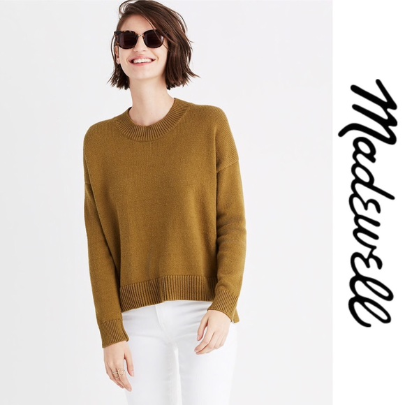 Madewell Sweaters - Madewell Brownstone Side Button Sweater